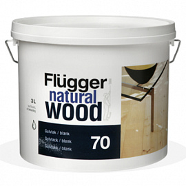 Flugger natural wood 70 (Wood Lacquer gloss) глянец